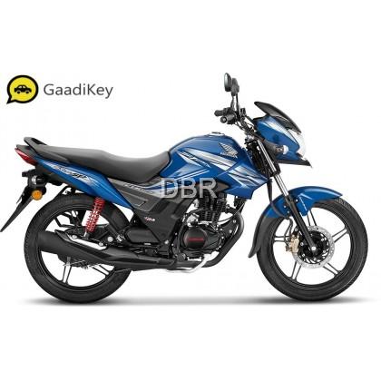 motorbike frames blue colour