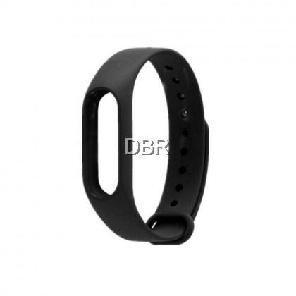 Replacement Watch Band Sport Wristband Adjustable Wrist Strap TUP Silicone Material Comfortable High Elasticity for M2/M3 Smart Bracelet (black)